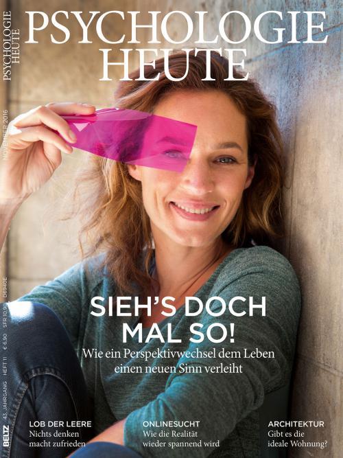 Psychologie Heute 11/2016 cover