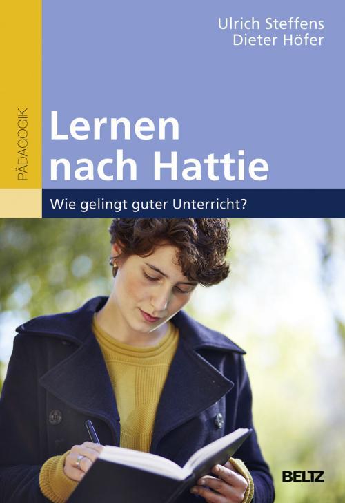 Lernen nach Hattie cover