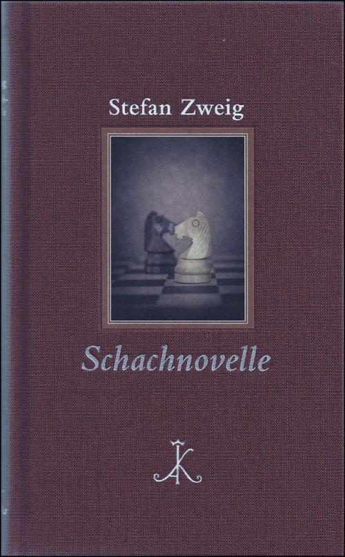 Stefan Zweig: Schachnovelle cover