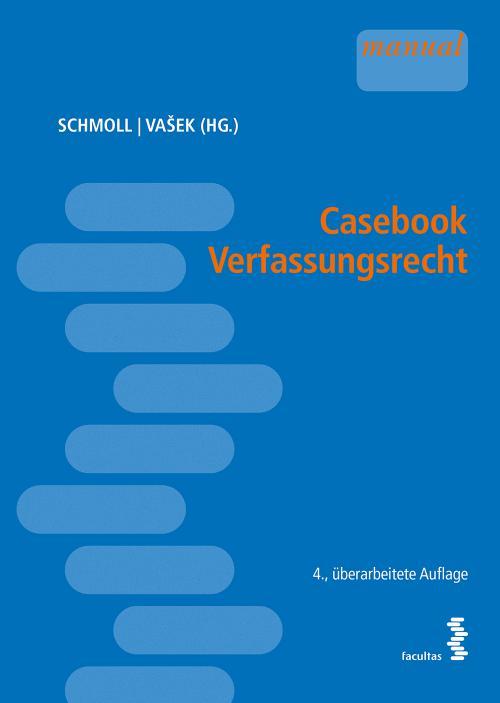Casebook Verfassungsrecht cover