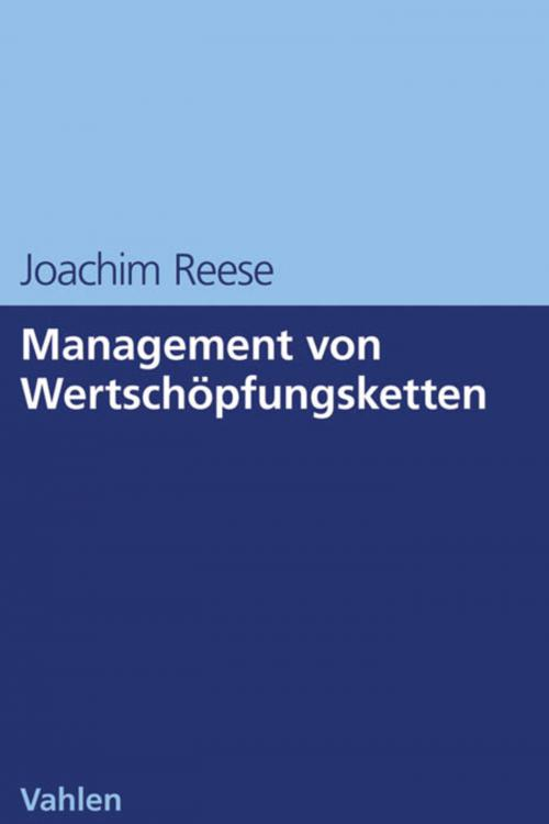 Management von Wertschöpfungsketten cover