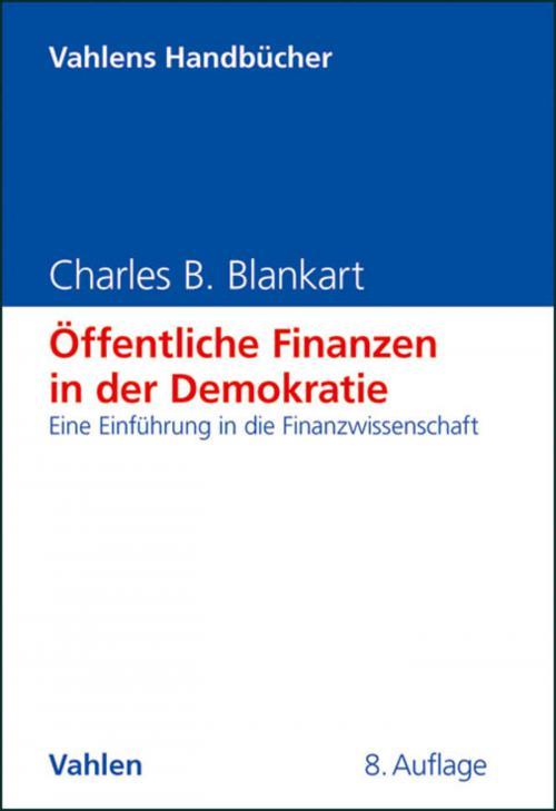 Öffentliche Finanzen in der Demokratie cover
