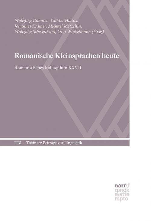 Romanische Kleinsprachen heute cover