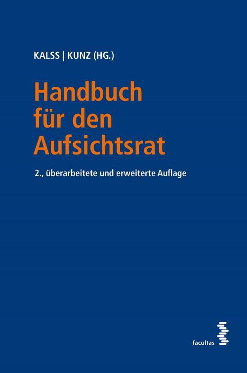 Handbuch für den Aufsichtsrat cover