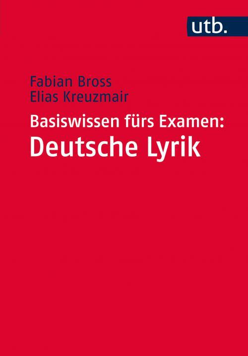 Basiswissen fürs Examen: Deutsche Lyrik cover