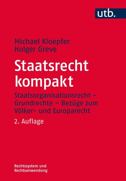 Staatsrecht kompakt cover