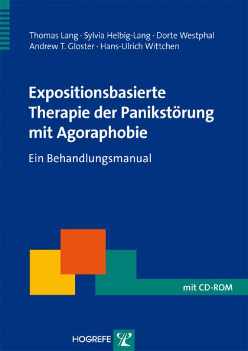 Expositionsbasierte Therapie der Panikstörung mit Agoraphobie cover