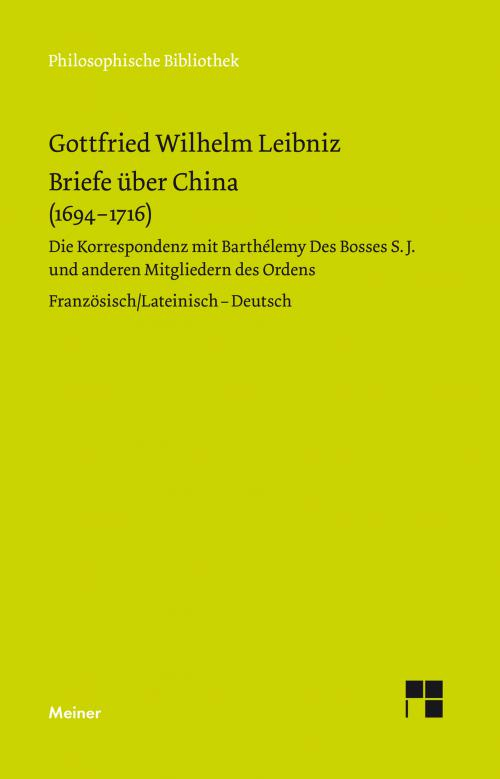 Briefe über China (1694-1716) cover