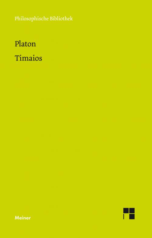 Timaios cover