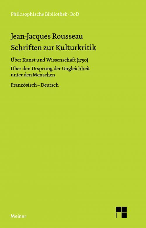 Schriften zur Kulturkritik cover