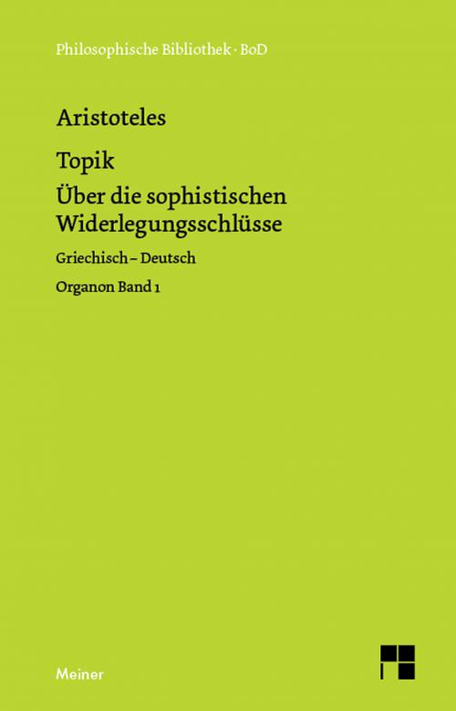 Organon. Band 1: Topik cover