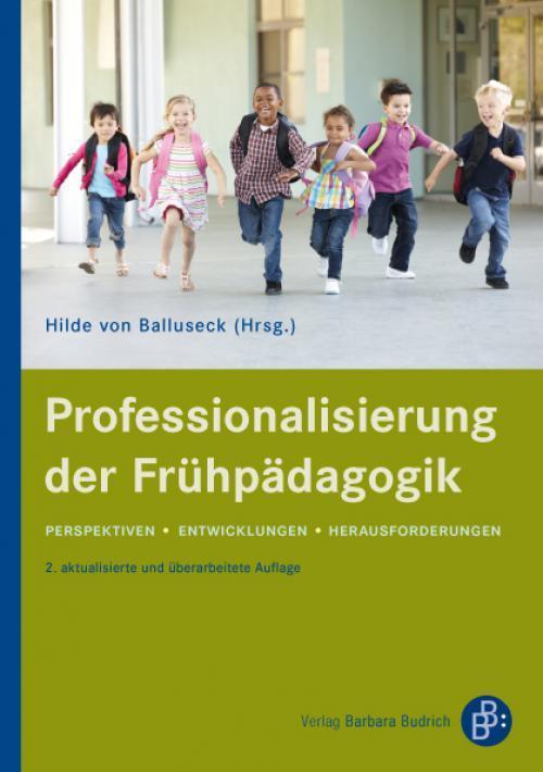 Professionalisierung der Frühpädagogik cover