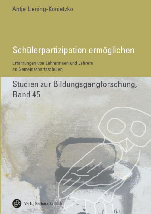 Schülerpartizipation ermöglichen cover