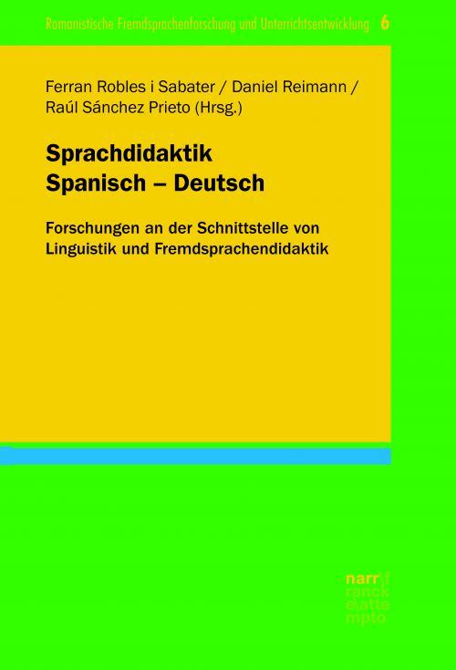 Sprachdidaktik Spanisch - Deutsch cover