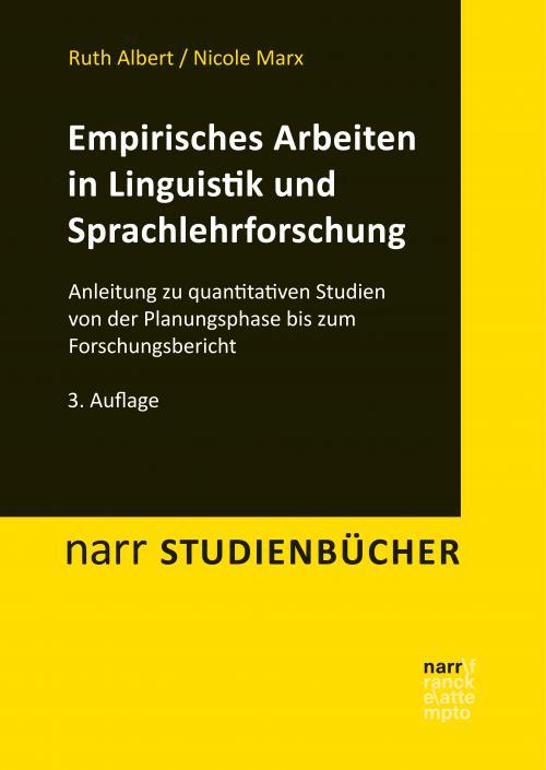 Empirisches Arbeiten in Linguistik und Sprachlehrforschung cover