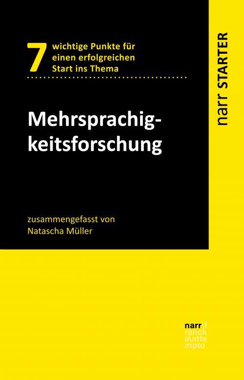 Mehrsprachigkeitsforschung cover