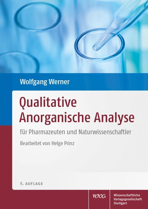 Qualitative Anorganische Analyse cover