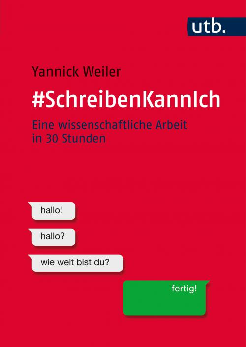 #SchreibenKannIch cover