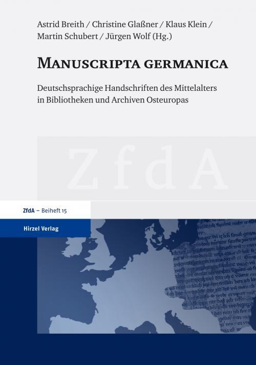 Manuscripta germanica cover