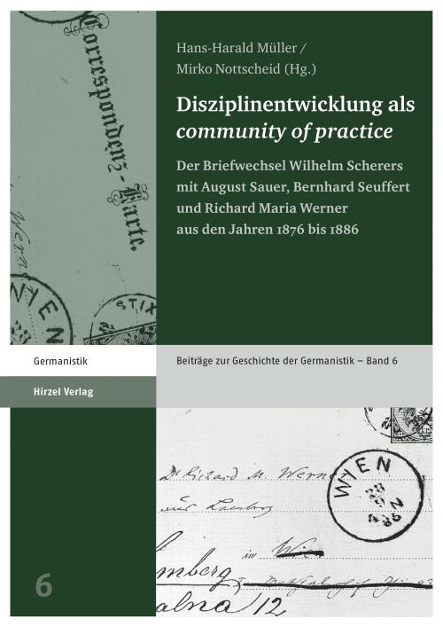 Disziplinentwicklung als community of practice cover