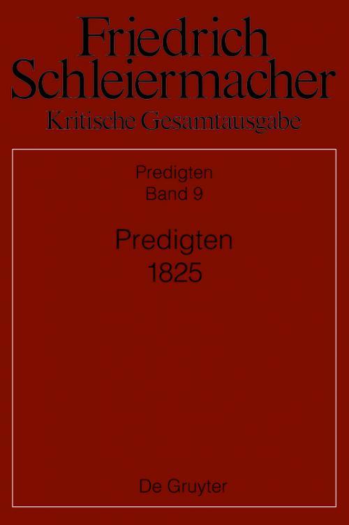 Predigten 1825 cover