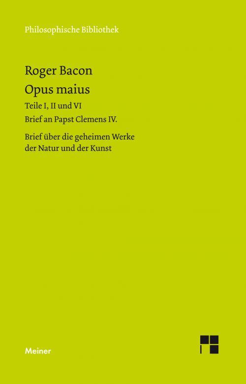 Opus maius cover