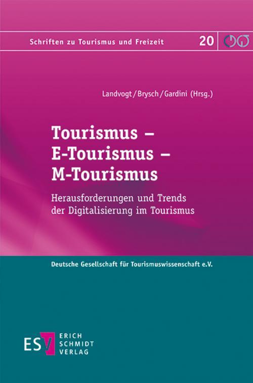 Tourismus – E-Tourismus – M-Tourismus cover