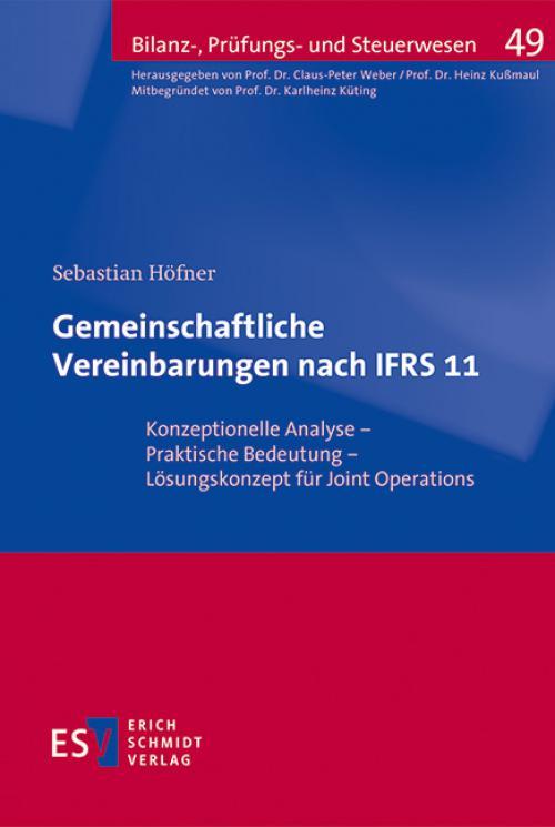 Gemeinschaftliche Vereinbarungen nach IFRS 11 cover