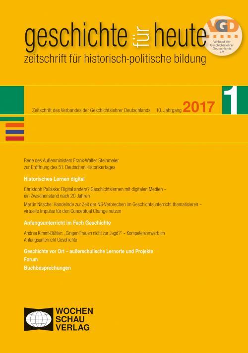 Historisches Lernen digital cover