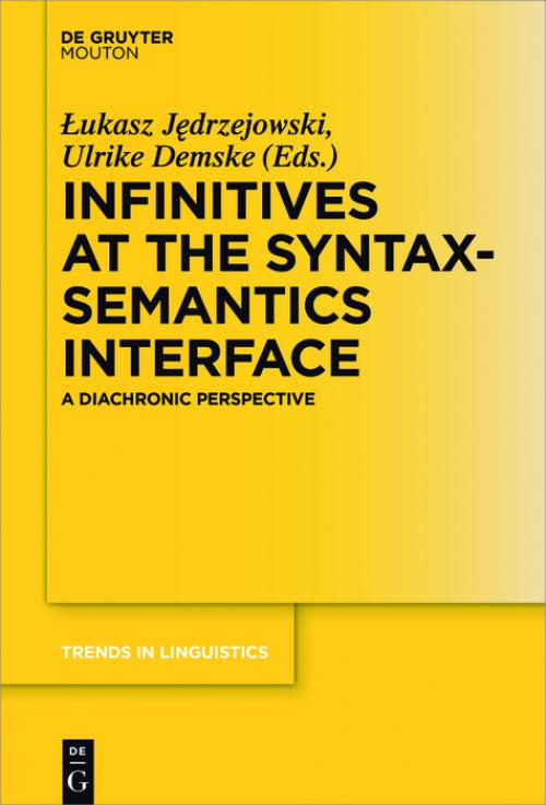 Infinitives at the Syntax-Semantics Interface cover