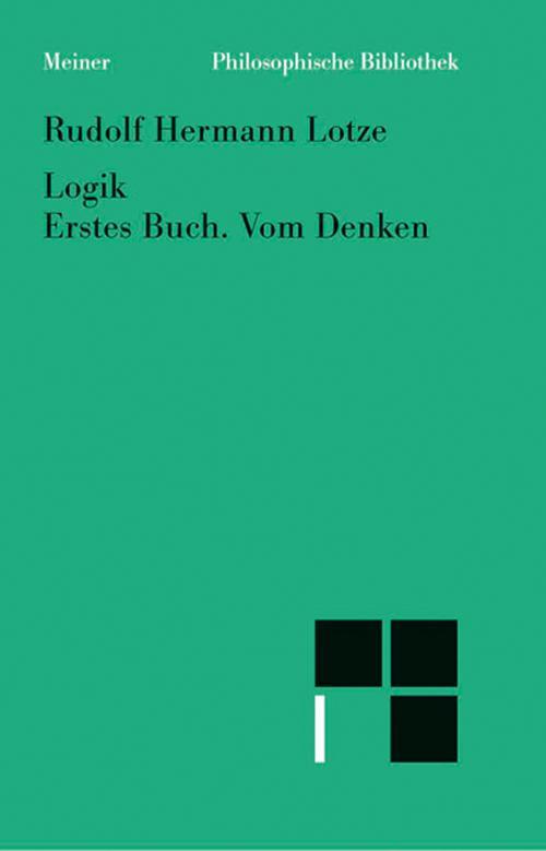 Logik, Erstes Buch. Vom Denken cover