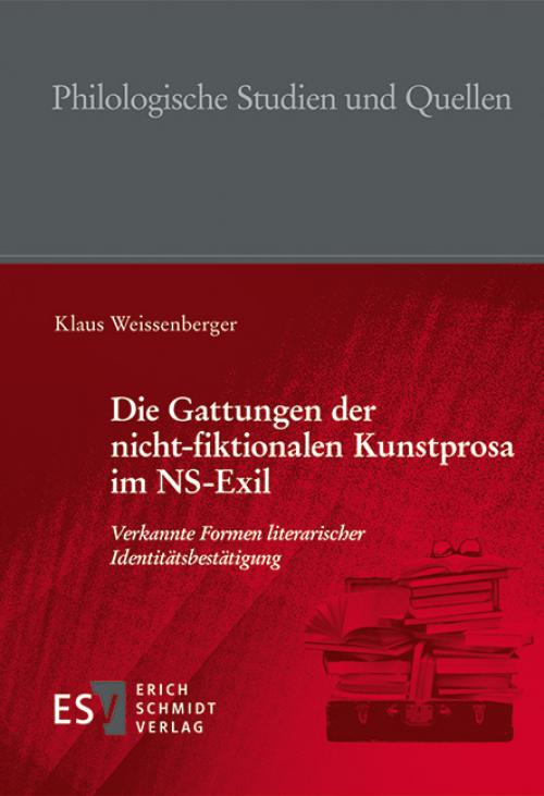 Die Gattungen der nicht-fiktionalen Kunstprosa im NS-Exil cover