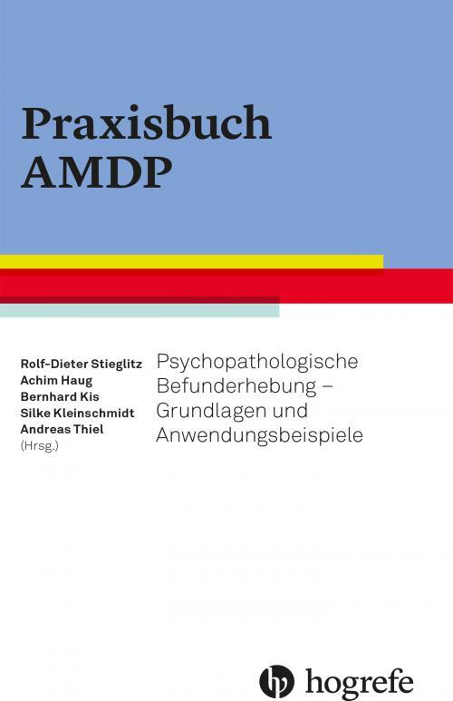Praxisbuch AMDP cover