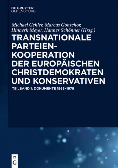 Transnationale Parteienkooperation der europäischen Christdemokraten und Konservativen cover