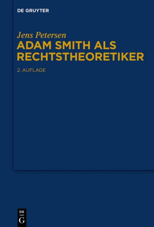 Adam Smith als Rechtstheoretiker cover